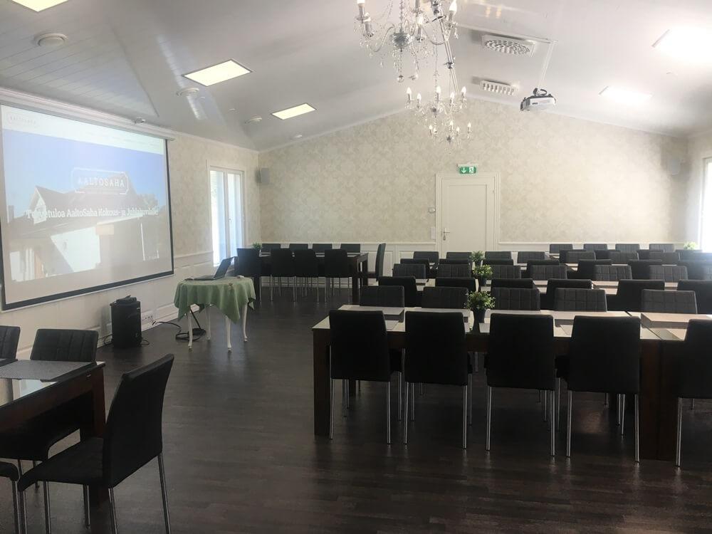 Kokoustilat Tampereen lähellä Längelmäveden rannalla