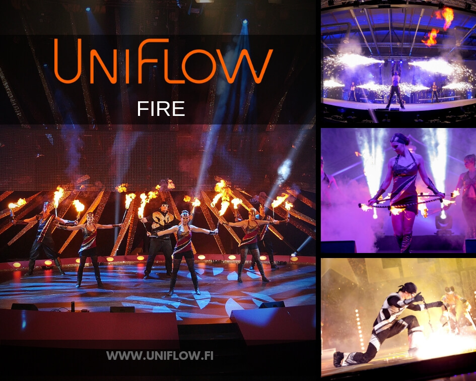 UNIFLOW   Valo- ja Tulishow